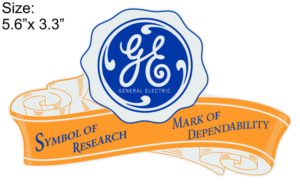 GE Banner Decal