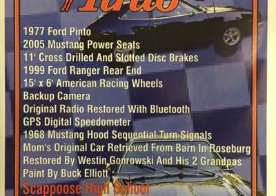 Vehicle Show Card