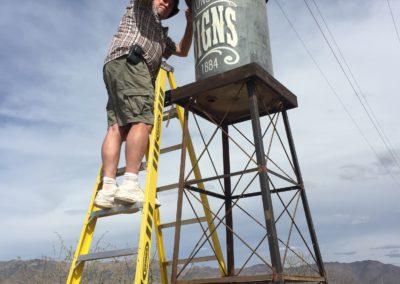 custom water tower installation