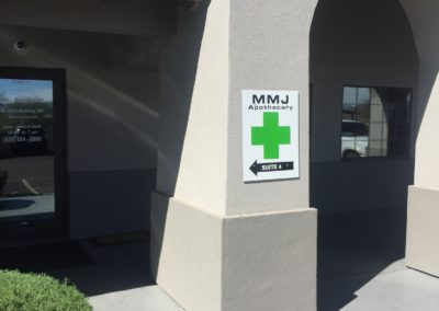 dispensary wall sign