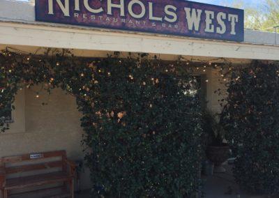 nichols west restaurant sign