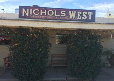 nichols west restaurant sign wickenburg
