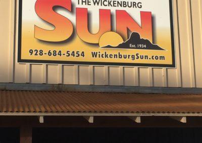 the wickenburg sun sign