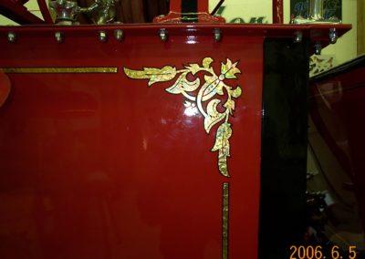 Fire Truck Gold Leaf 2