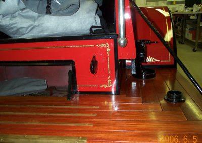 Fire Truck Gold Leaf 3