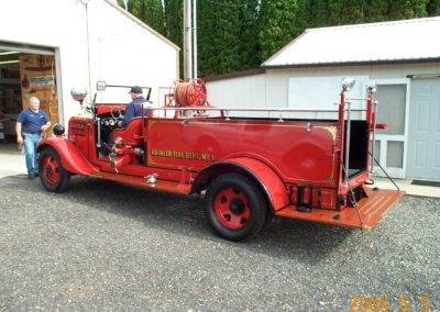 Fire Truck Gold Leaf 4