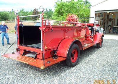 Fire Truck Gold Leaf 5